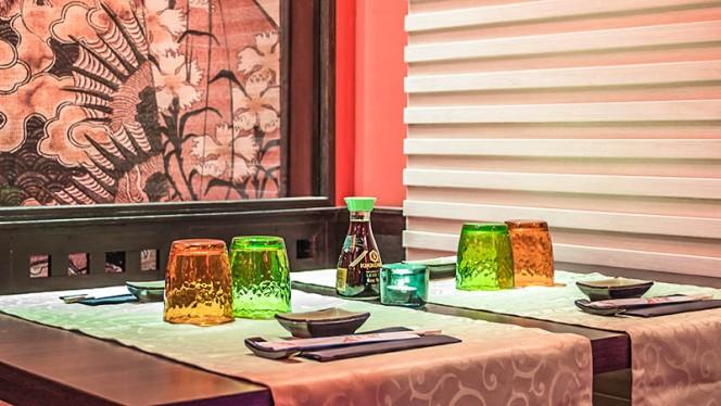 decorazione tavolo - Hoseki, Firenze