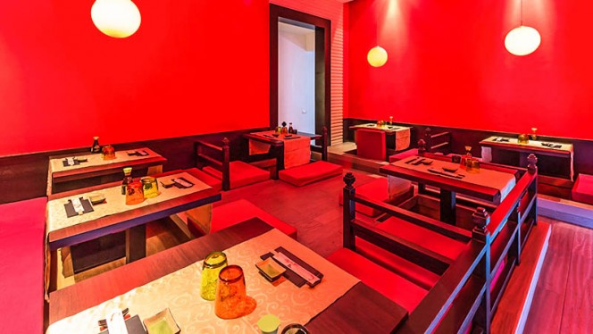 La sala rossa - Hoseki, Firenze