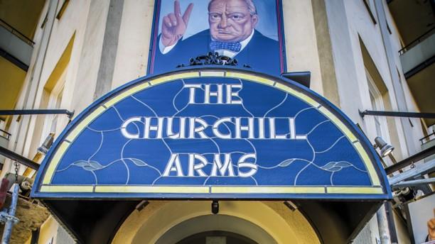 Churchill Arms Exterior