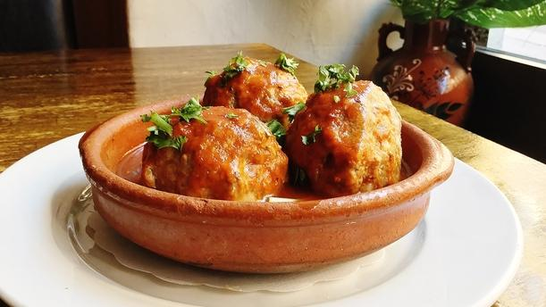La bodega tapas bar Spanish Meatballs