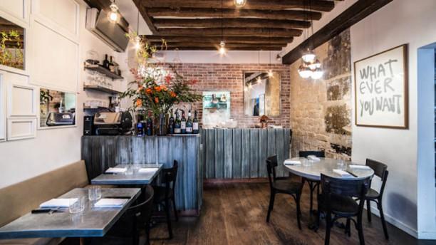 Frenchie Restaurant - Grégory Marchand Vue de la salle