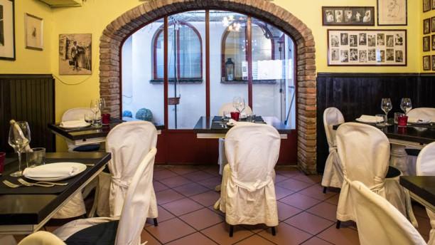 Antica Osteria Romagnola Sala del ristorante