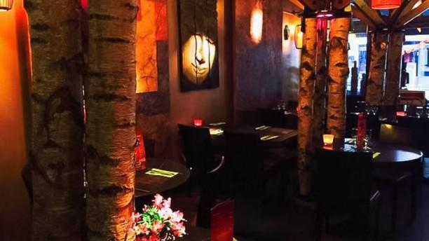 Lune de miel - Bambou Fleur Salle du restaurant