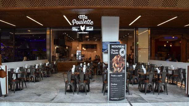 Ma Poulette devanture - restaurant - Ma Poulette