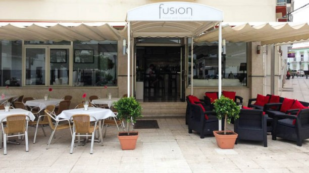 Fusion Food and Lounge La entrada