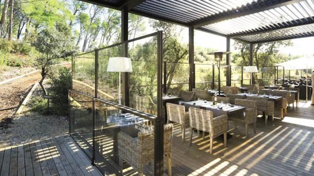 Le Domaine de Manville - La Table terrasse