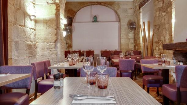 Restaurant Les Voûtes Vue de la salle