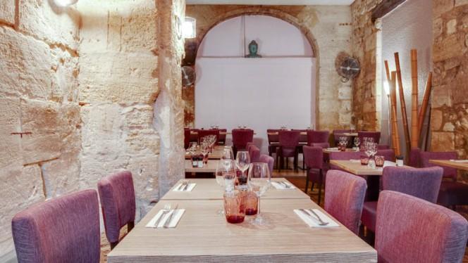 Vue de la salle - Restaurant Les Voûtes, Bordeaux