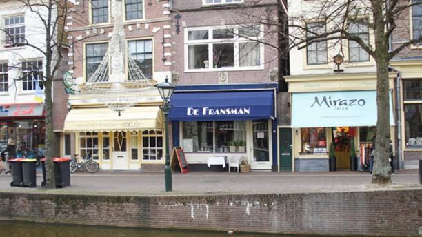 Fondue restaurant De Fransman ingang