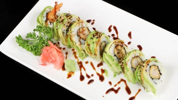 Sushi Takasaki Avocat Roll