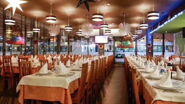 Restaurante Mineirão Vista da sala