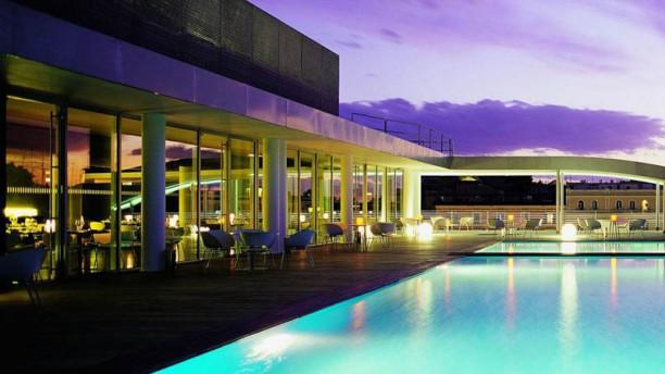 Sette Rooftop Restaurant Pool In Rome Restaurant Reviews