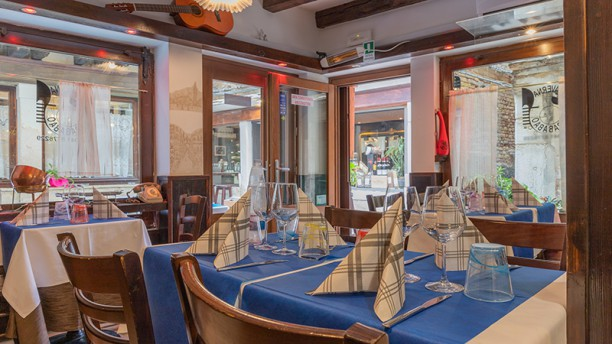 Taverna Barababao Vista della sala