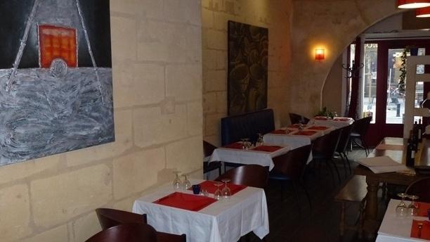 Au Charbon Ardent Salle du restaurant