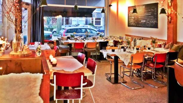 COTIGNAC Het restaurant