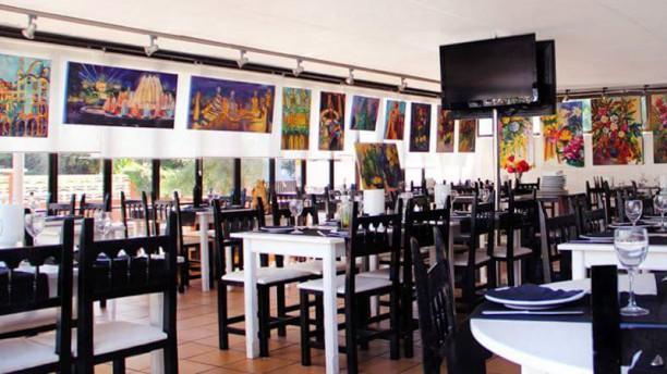 Can Pere Martí Sala del restaurante
