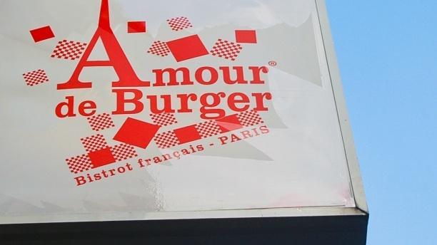 Amour de Burger La façade