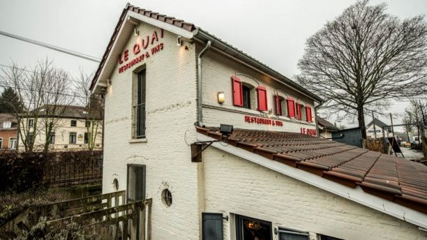 Restaurant le quai bruxelles avis menu et prix for Exterieur quai