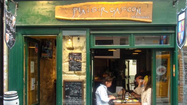Plaisir Gascon Devanture du restaurant