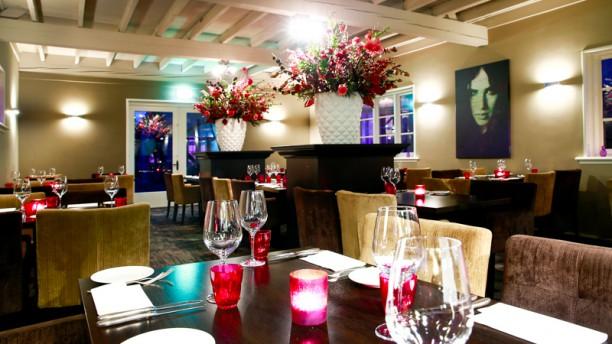 Brasserie BinX Het restaurant