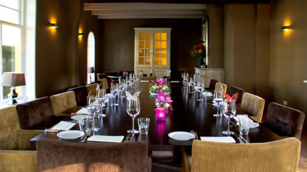 Brasserie BinX Restaurantzaal