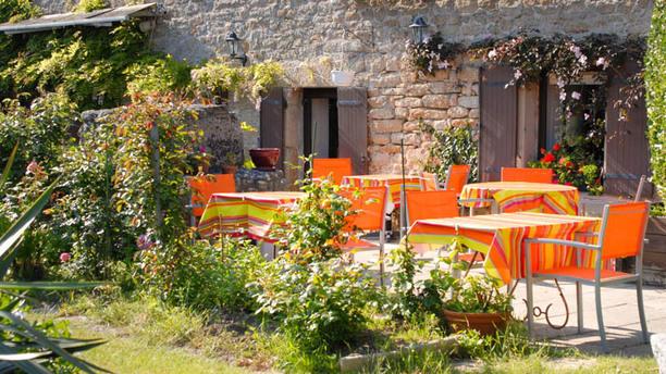 L'Auberge du Vieux Puits Terrasse