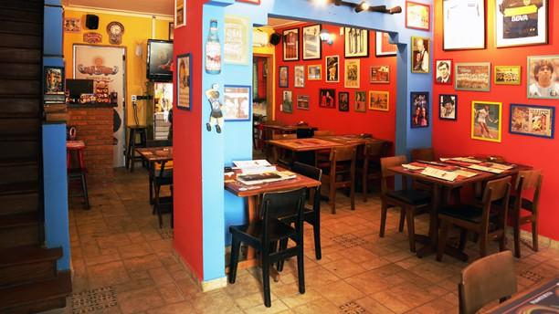 San Telmo Resto Bar vista da sala