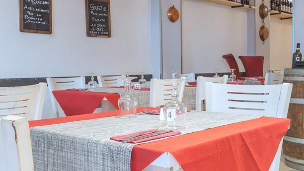 Ost Friendly Food Roma Vista della sala