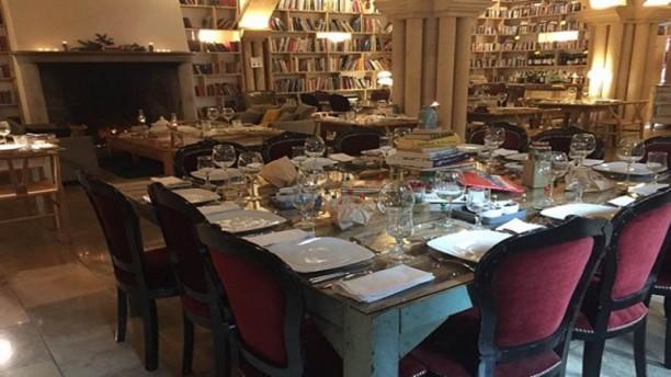 Book & Cook Vista da sala