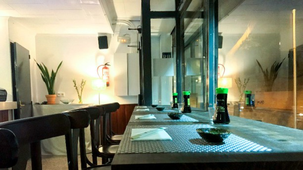 Fukuoka Sushi & Grill Vista del interior