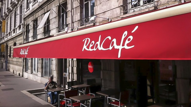 "Ristretto by ""Red Café"" façade"