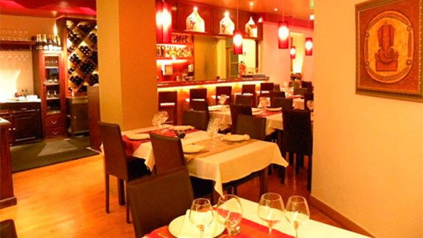 Passage to India Restaurante Indiano sala