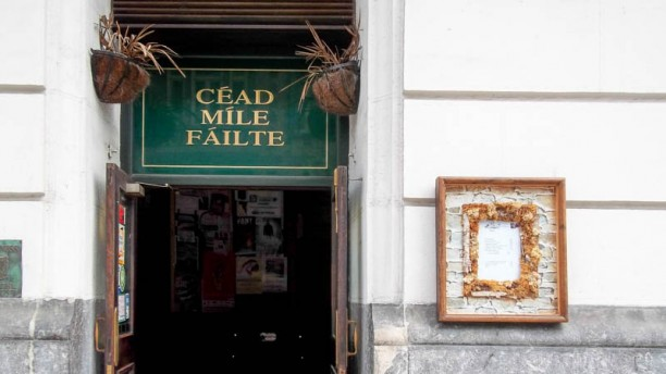 Dubliner's Irish Pub Vista del salón