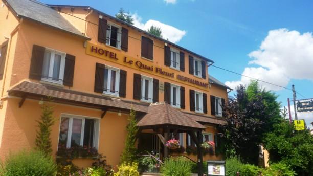 L'Hibiscus Restaurant (Le Quai Fleuri Hôtel***) Devanture
