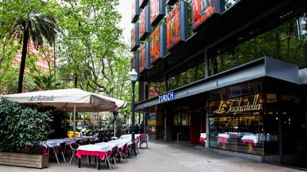 La Tagliatella Diagonal La terraza