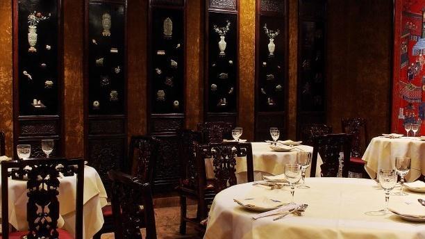Passy Mandarin Palais Royal Salle du restaurant