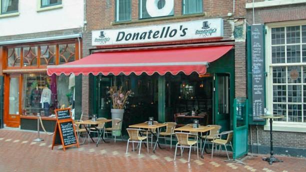 Donatello's entrance