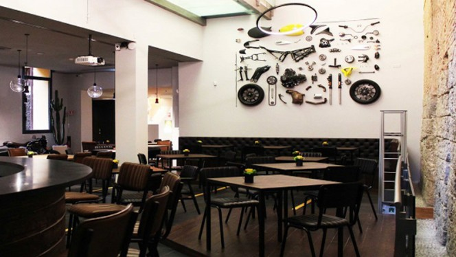 Sala interna - Scrambler Ducati Food Factory D'Azeglio, Bologna