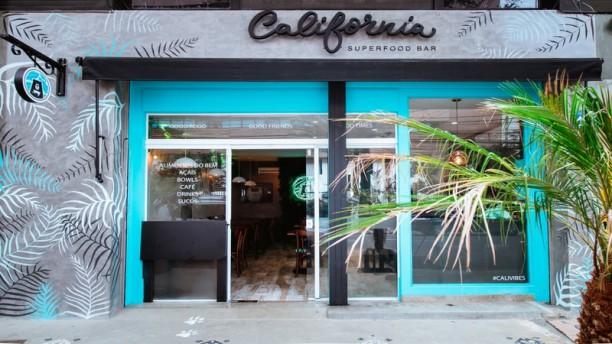California Superfood Bar Fachada