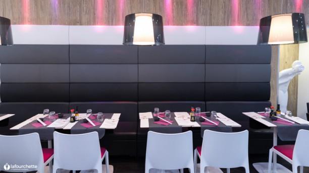 Sushi's Vue de la salle