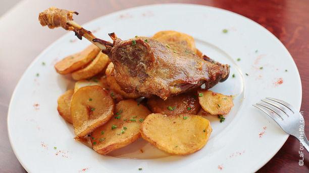 Le dernier m tro in paris restaurant reviews menu and - Confit de canard maison ...