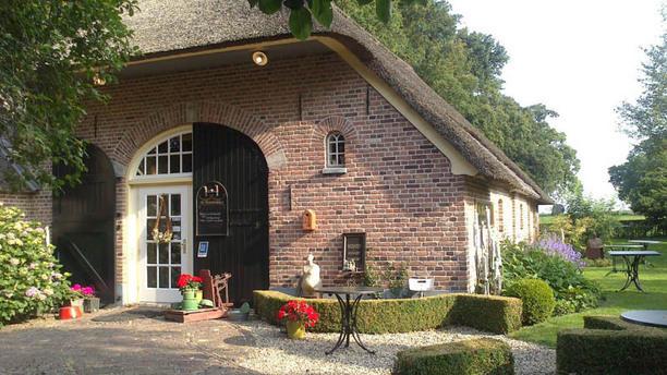 Theehuis De Hoestinkhof ingang