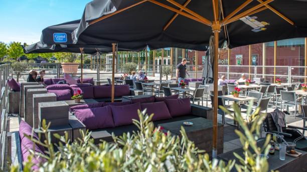 Grand Café 't heertje Terras 't heertje Huizen