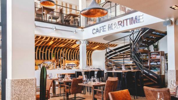 Café Maritime Lacanau Salle du restaurant