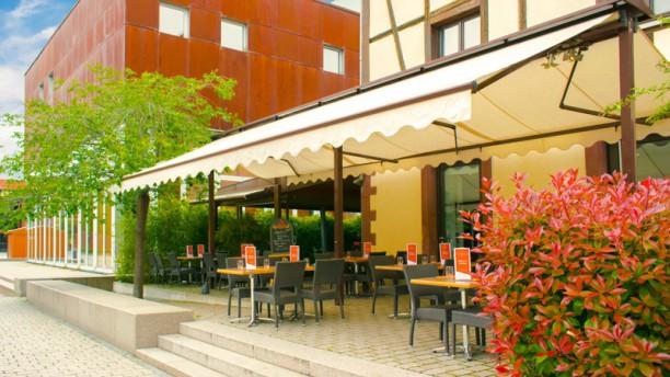 Café Littéraire La terrasse du restaurant