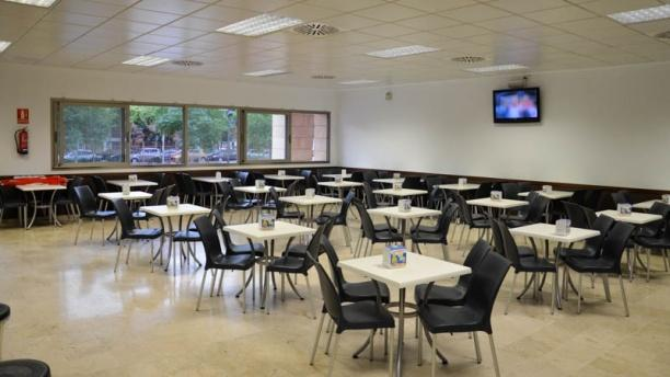 Cafetería Derecho y Ciencias Sociales Instalaciones