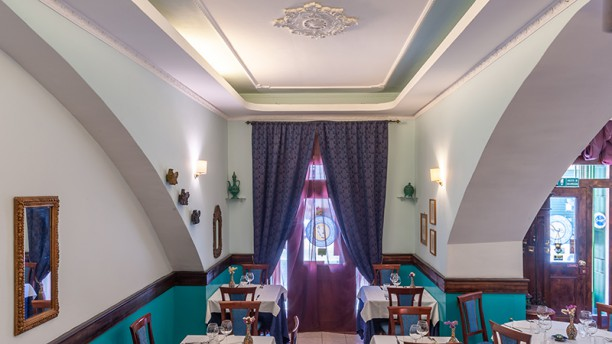 Ristorante Soraya Vista della sala