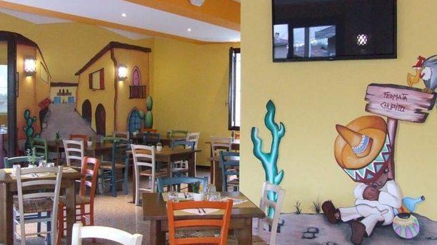 Chupito Mexican food & Pizzeria - Rogno ambientazione messicana