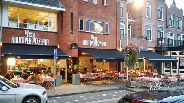 La Vespa Het restaurant