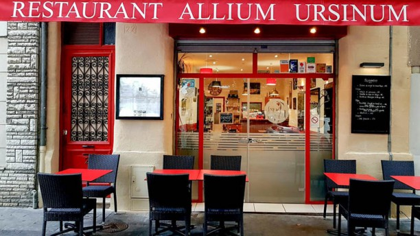 Allium Ursinum Devanture de notre petit restaurant de quartier